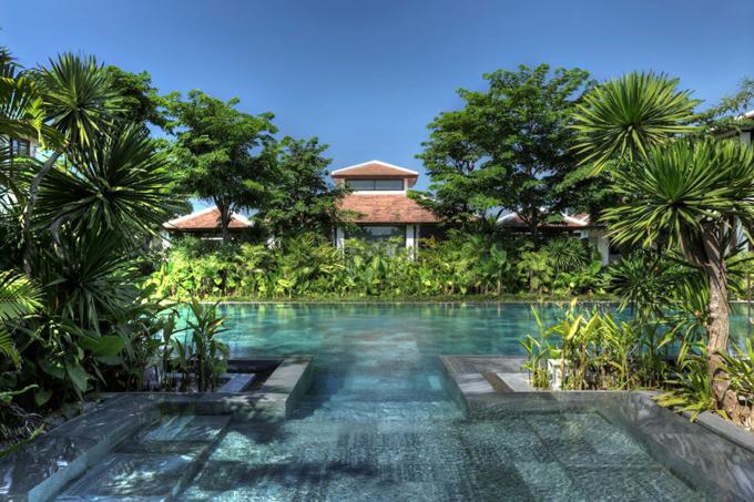Cái tên thiết bị 2 lọt vào danh sách này là Fusion Maia, Đà Nẵng. Khuresort nằm trên quận Ngũ Hành Sơn, vượt trội với những trải nghiệm spa, yoga riêng biệt dành cho du khách.