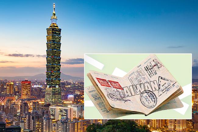 Các bước xin visa Đài Loan theo cách truyền thống