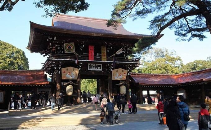 Meiji Jingu – ngôi đền đặc biệt giữa lòng Tokyo