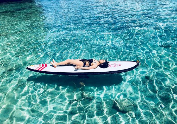 Nàng MC gợi ý điểm đến `như mơ` ở Philippines, sát quần đảo Trường Sa
