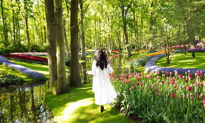 Sao Việt nô nức đến Hà Lan ngắm mùa hoa tulip sang trọng nao lòng - 10