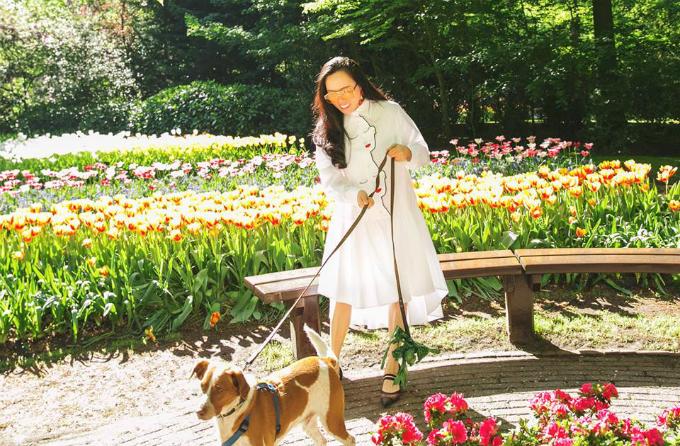 Sao Việt nô nức tới Hà Lan ngắm mùa hoa tulip xa sỉ nao lòng - 11
