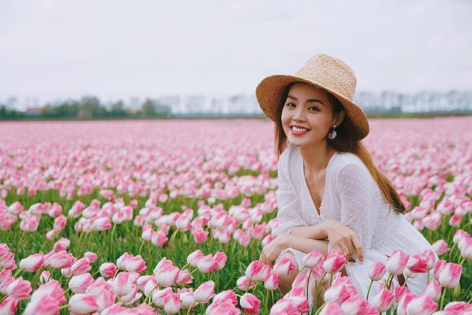 Sao Việt nô nức đến Hà Lan ngắm mùa hoa tulip xa sỉ nao lòng - 4