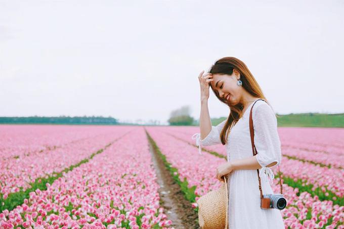 Sao Việt nô nức đến Hà Lan ngắm mùa hoa tulip sang trọng nao lòng - 5