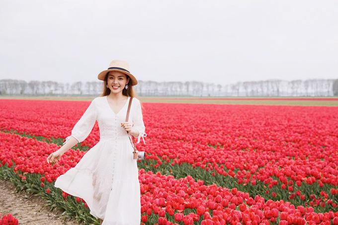 Sao Việt nô nức đến Hà Lan ngắm mùa hoa tulip xa sỉ nao lòng - 6