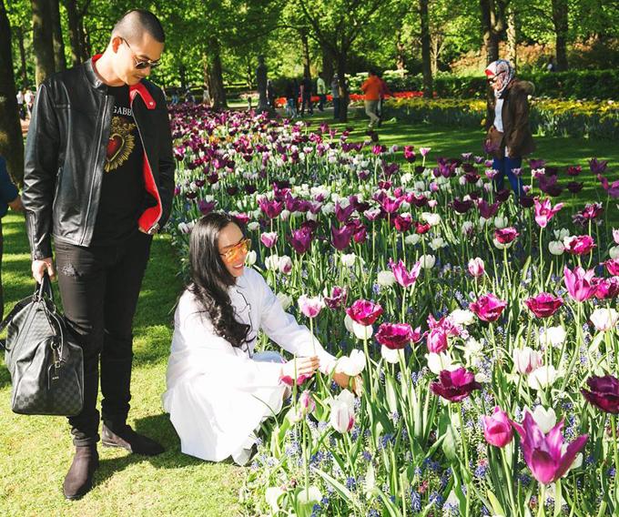 Sao Việt nô nức đến Hà Lan ngắm mùa hoa tulip đẹp nao lòng - 9