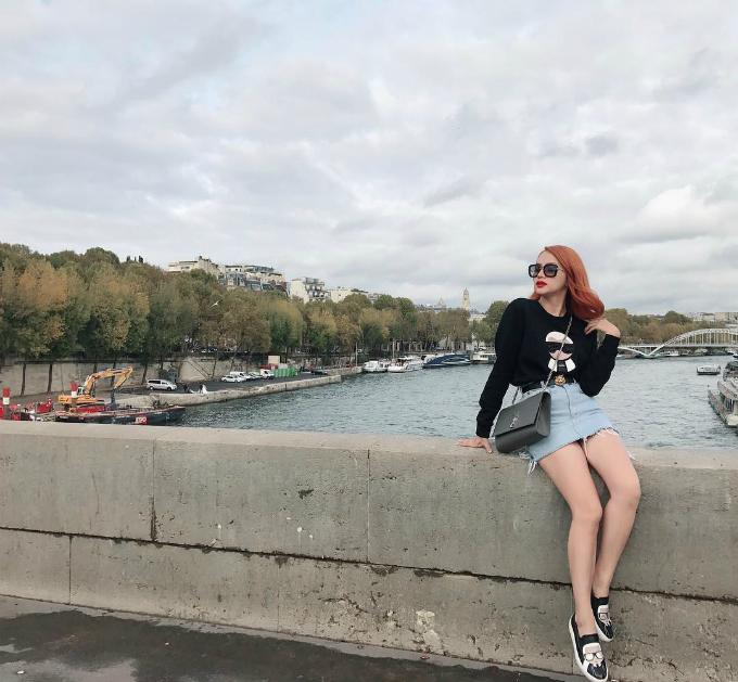 Theo chân Hương Giang Idol check in sang chảnh khắp thế giới - 4