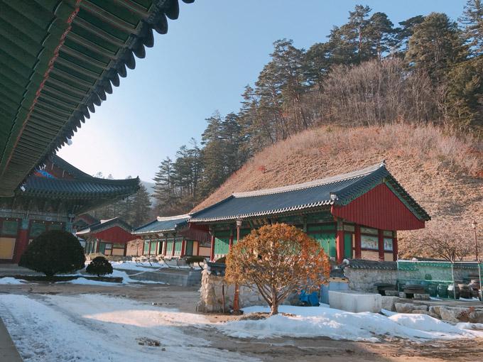 Ngôi đềnbao gồm quần thể di tích Phật giáo truyền thống với 60 ngôi đền, 8 tu viện. Sau chiến tranh với Triều Tiền vào năm 1950, giàu dự án của ngôi đềnbị thiêu hủy và bây giờ đã đượcphục dựng.