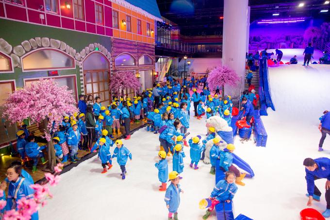 Địa chỉ vui chơi 30/4 mát lạnh trên Sài Gòn/Khu giải trí cho gia đình vui chơi dịp lễ 30/04