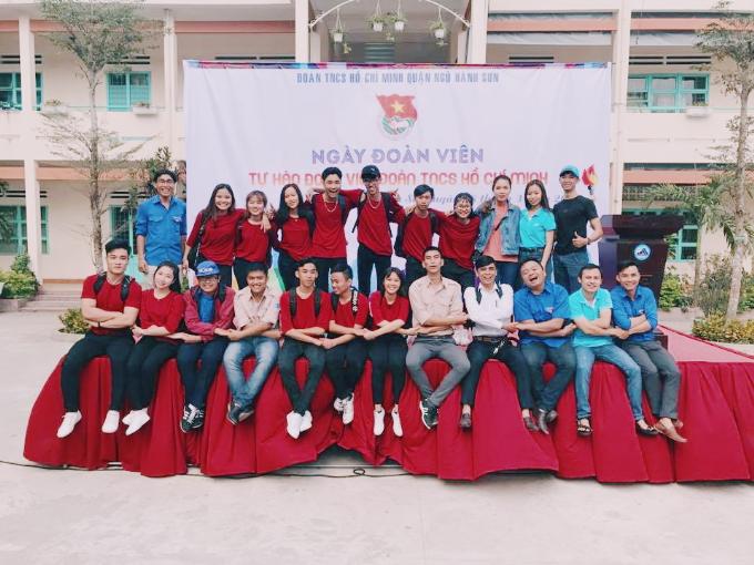 Đội flashmob quận đoàn Ngũ Hành Sơn mong chờ `tỏa sáng` trên sân khấu DIFF 2018