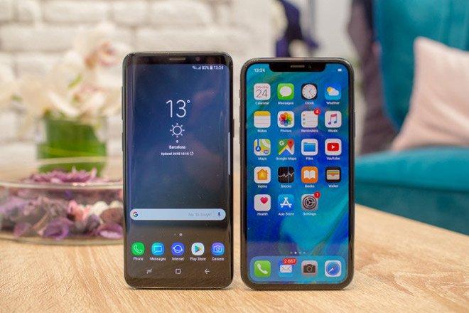 Lật đổ iPhone X, Galaxy S9 trở thành mẫu smartphone bán chạy nhất tháng 4/2018