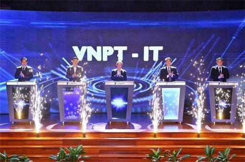 Ra mắt Công ty Công nghệ thông tin VNPT