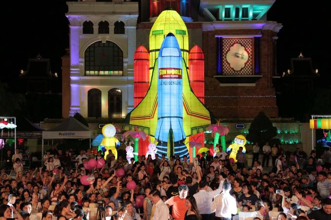 Sun World xác lập kỷ lục Guinness với Mô hình Đèn lồng lớn nhất Việt Nam (em xin edit) - 2